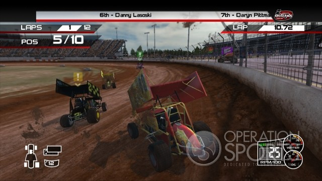 World of Outlaws: Sprint Cars Screenshot #3 for Xbox 360