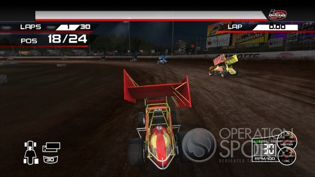 World of Outlaws: Sprint Cars Screenshot #5 for Xbox 360