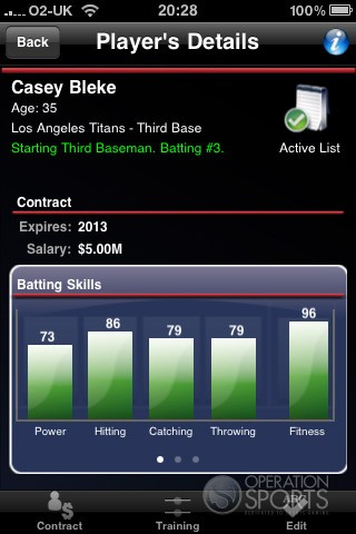 Baseball Manager 2010 Screenshot #1 for Wireless