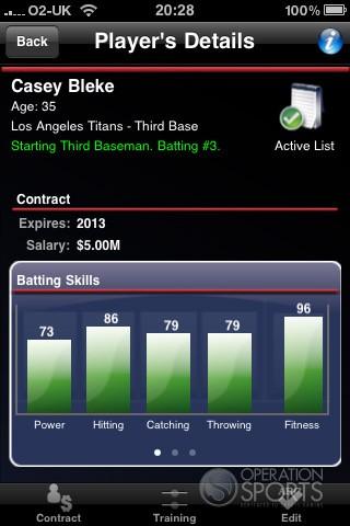 Baseball Manager 2010 Screenshot #1 for Wireless