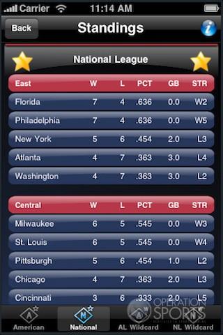 Baseball Manager 2010 Screenshot #3 for Wireless