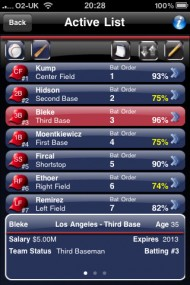Baseball Manager 2010 screenshot #4 for Wireless - Click to view