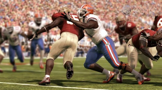 NCAA Football 11 Screenshot #1 for PS3