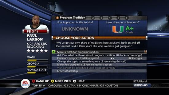 NCAA Football 11 Screenshot #31 for Xbox 360