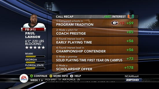 NCAA Football 11 Screenshot #33 for Xbox 360