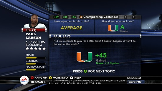 NCAA Football 11 Screenshot #31 for PS3