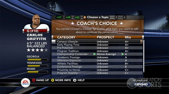 NCAA Football 11 Screenshot #37 for Xbox 360