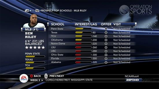 NCAA Football 11 Screenshot #85 for Xbox 360