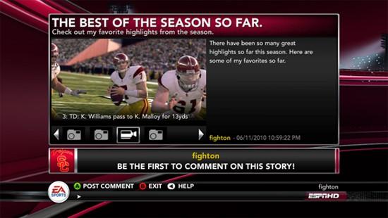 NCAA Football 11 Screenshot #133 for Xbox 360