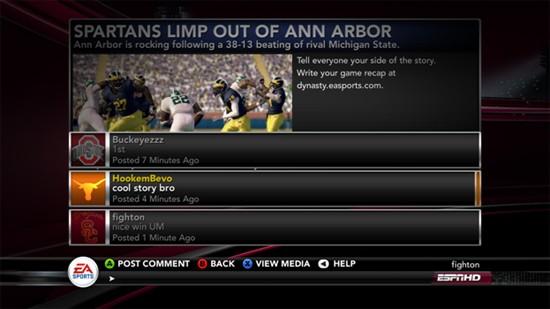 NCAA Football 11 Screenshot #121 for PS3