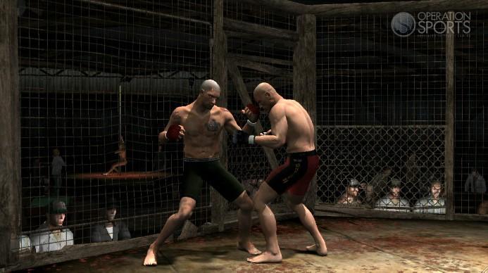 Supremacy MMA Screenshot #2 for Xbox 360