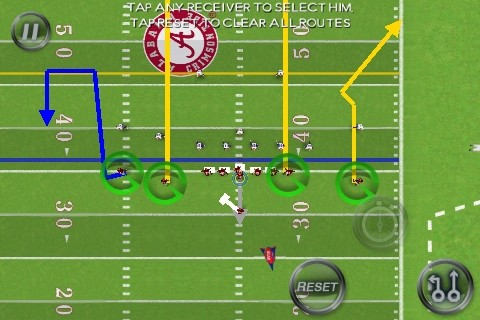 NCAA Football 11 Screenshot #1 for iPhone