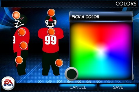 NCAA Football 11 Screenshot #3 for iPhone
