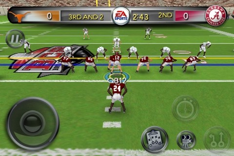 NCAA Football 11 Screenshot #4 for iPhone