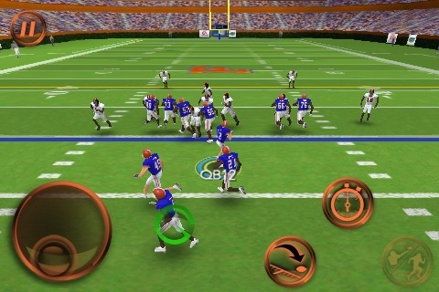 NCAA Football 11 Screenshot #5 for iPhone
