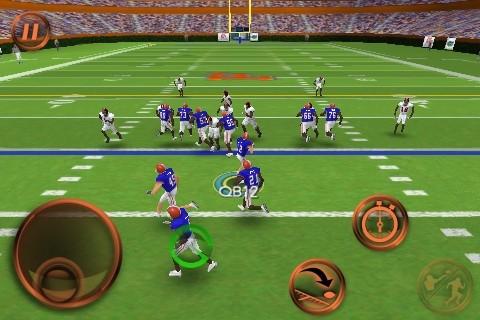 NCAA Football 11 Screenshot #5 for iPhone