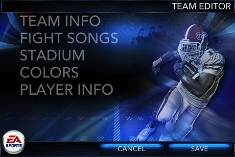 NCAA Football 11 Screenshot #6 for iPhone