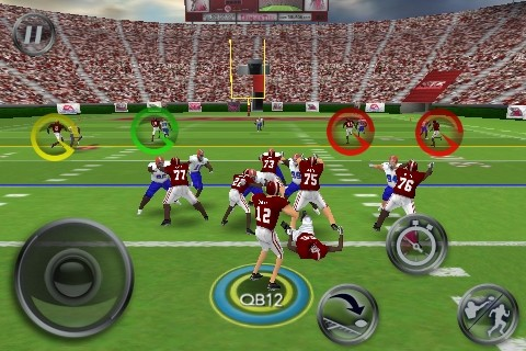 NCAA Football 11 Screenshot #7 for iPhone