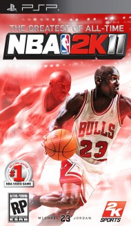NBA 2K11 screenshot #1 for PSP - Click to view