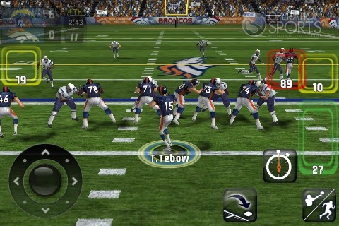 Madden NFL 11 Screenshot #5 for iPhone