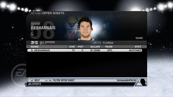 NHL 11 Screenshot #100 for Xbox 360