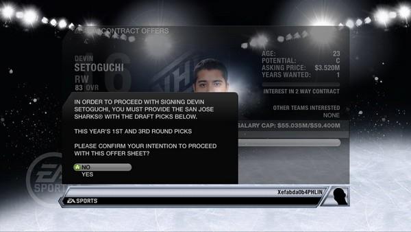 NHL 11 Screenshot #101 for Xbox 360