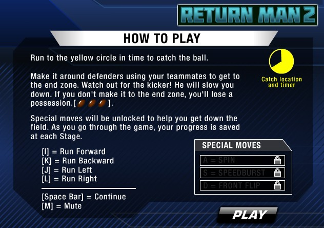 Return Man 2 Screenshot #1 for PC