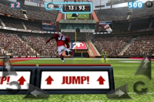 Backbreaker 2: Vengeance Screenshot #3 for iPhone