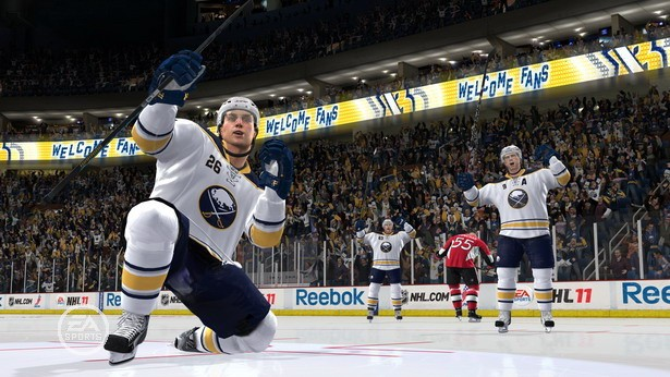 NHL 11 Screenshot #111 for Xbox 360