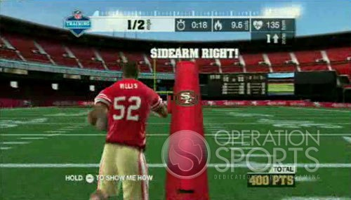 EA Sports Active NFL Training Camp Screenshot #1 for Wii