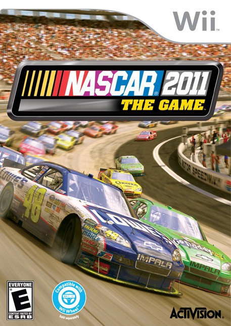 NASCAR The Game 2011 Screenshot #1 for Wii