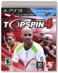 Top Spin 4 screenshot #1 for PS3 - Click to view