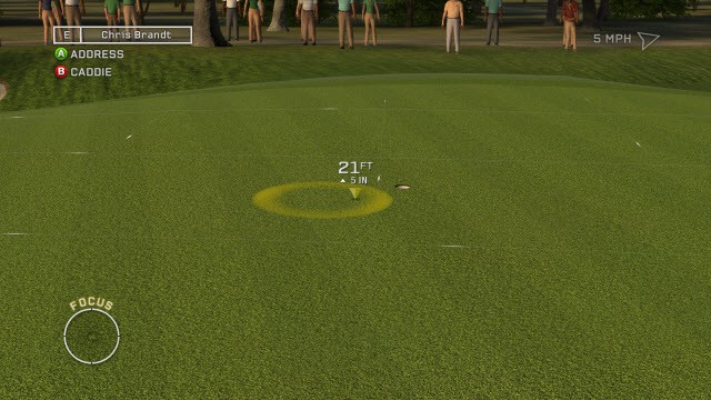 Tiger Woods PGA TOUR 12: The Masters Screenshot #40 for PS3