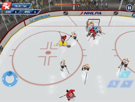 NHL 2K11 Screenshot #1 for iPad
