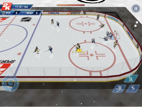 NHL 2K11 Screenshot #2 for iPad