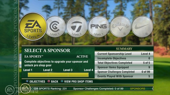 Tiger Woods PGA TOUR 12: The Masters Screenshot #54 for Xbox 360