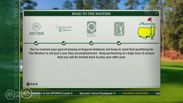 Tiger Woods PGA TOUR 12: The Masters Screenshot #104 for Xbox 360