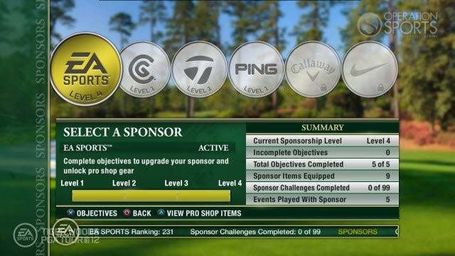 Tiger Woods PGA TOUR 12: The Masters Screenshot #89 for PS3