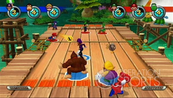 Mario Sports Mix Screenshot #1 for Wii