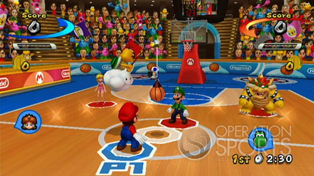 Mario Sports Mix Screenshot #5 for Wii