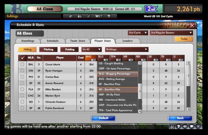 MLB Manager Online  Screenshot #9 for PC