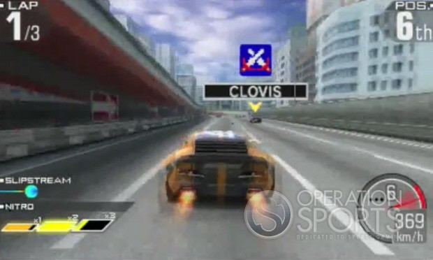 Ridge Racer 3D Screenshot #1 for 3DS