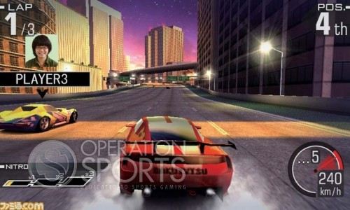 Ridge Racer 3D Screenshot #4 for 3DS