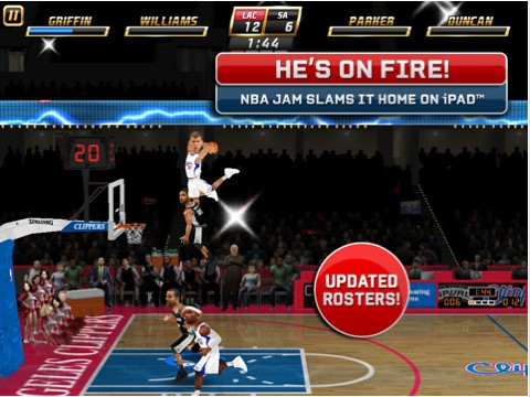 EA Sports NBA JAM Screenshot #1 for iPad