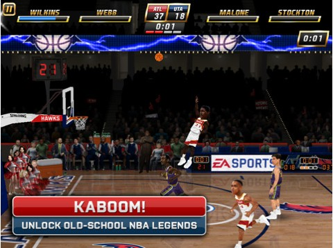 EA Sports NBA JAM Screenshot #5 for iPad