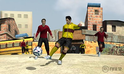 FIFA 12 Screenshot #2 for 3DS
