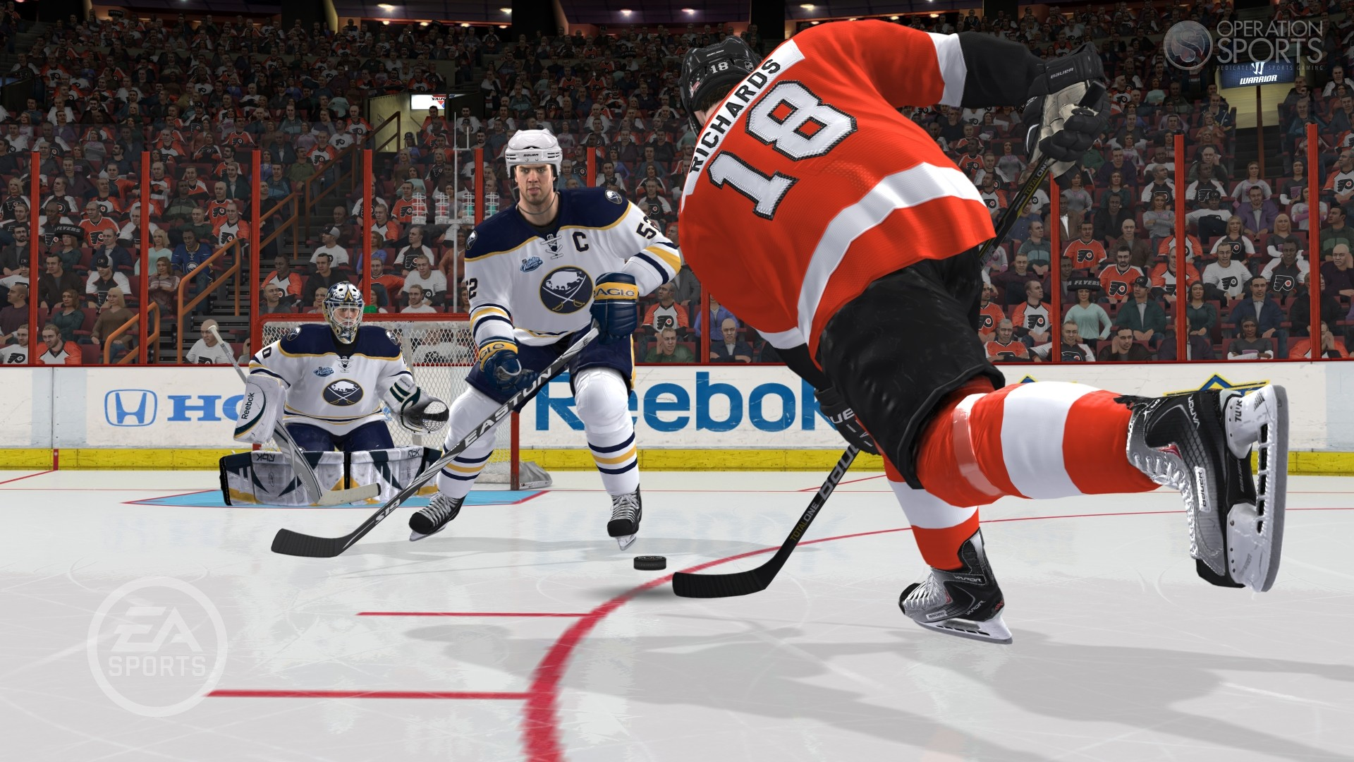 картинки из игры NHL 12
