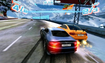 Asphalt 3D Screenshot #1 for 3DS