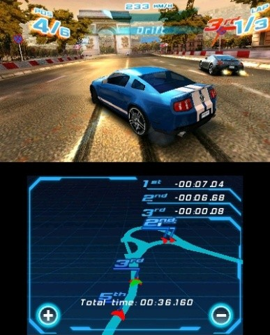 Asphalt 3D Screenshot #2 for 3DS