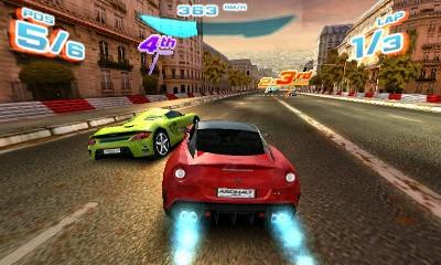 Asphalt 3D Screenshot #3 for 3DS